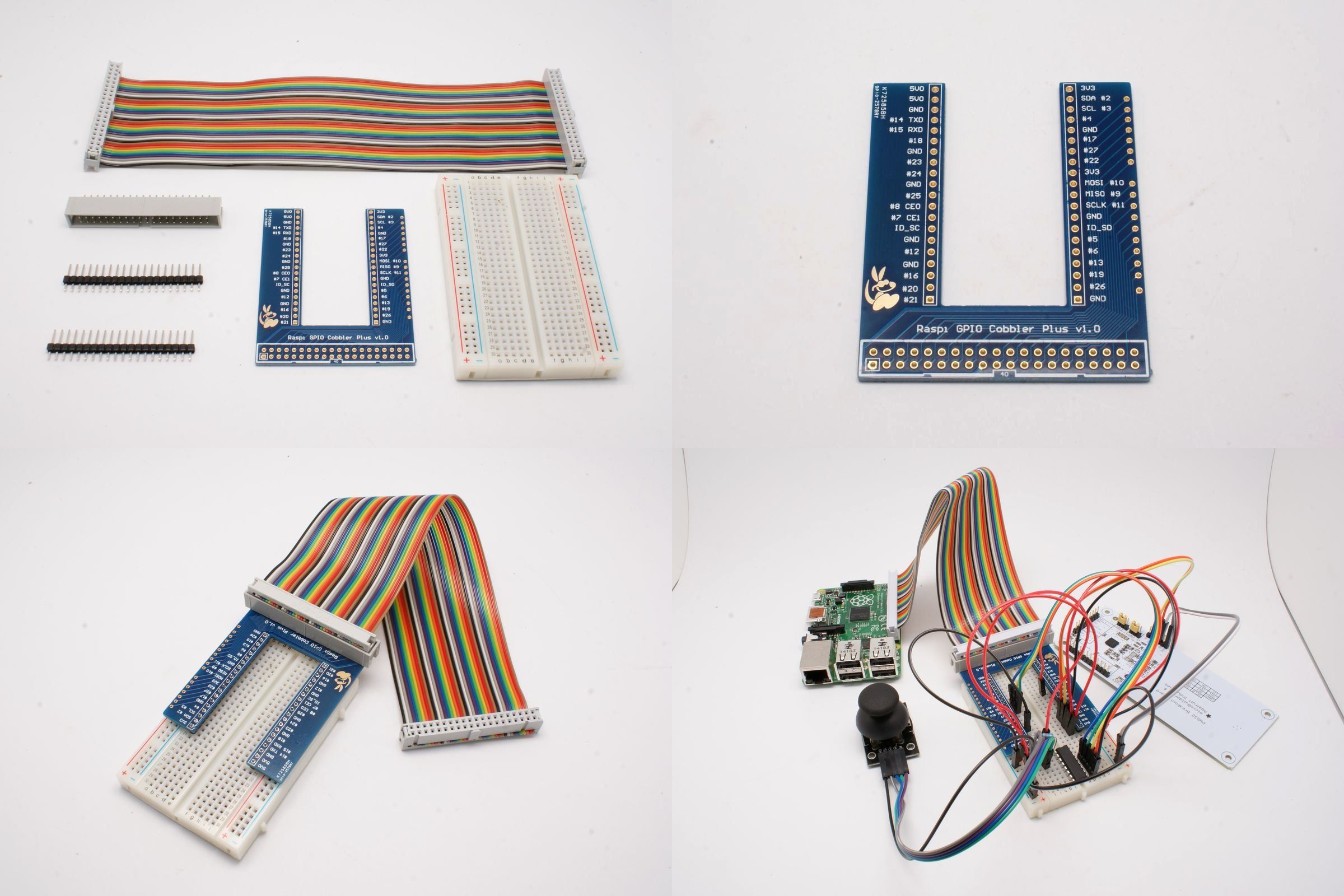 Model-B-Plus-GPIO-Breadboard-Adapter-Kit