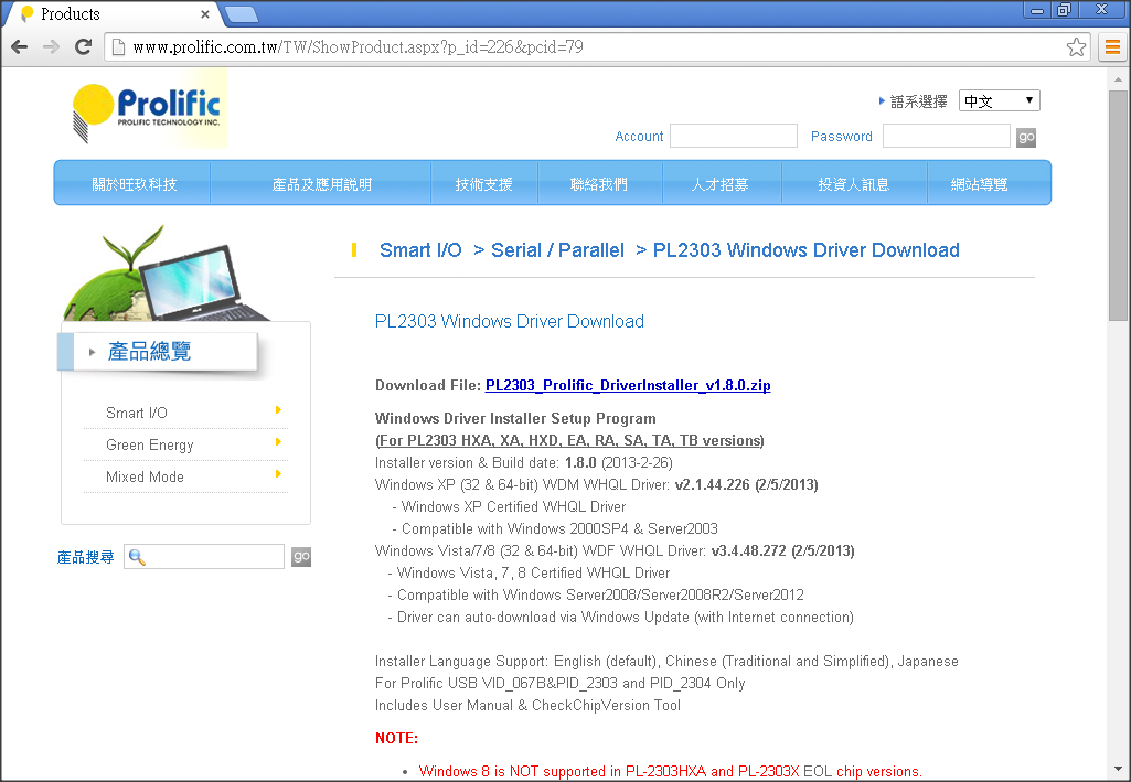 Prolific pl2303 windows 7 driver download mixeground - Prolific usb to serial comm port driver windows 8 ...