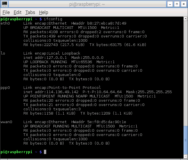 e1820_wvdial_ifconfig