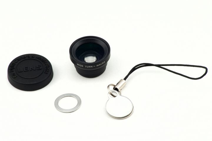 Magnetic-Wide-Angle-Lens